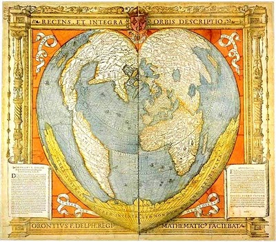 Heart-shaped-world-map-medieval-French