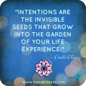Intentions blue